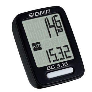 Kolesarski števec Sigma BC 5.16 (žični)