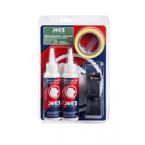 - Joe`s Super Sealant Tubeless kit (All Mountain) - OPTIBIKE