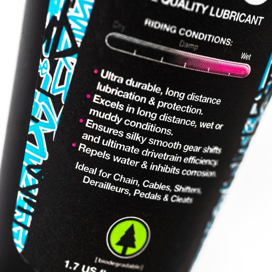 - Muc-off olje za verigo Wet Lube 120ml - OPTIBIKE