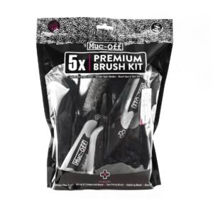 Muc-off Premium Brush Kit, 5 delni komplet krtač za čiščenje kolesa