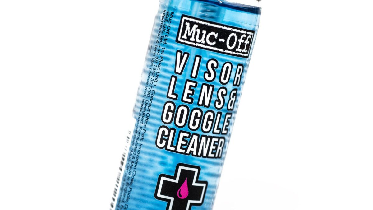 - Muc-off Helmet Visor & Goggle Cleaner, čistilo za očala in čelado 32ML - OPTIBIKE