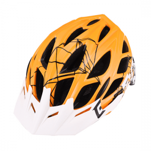 MTB čelada Extend EVENT (oranžna – bela)