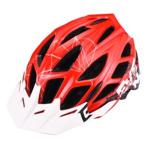 MTB čelada Extend EVENT (rdeča – bela)