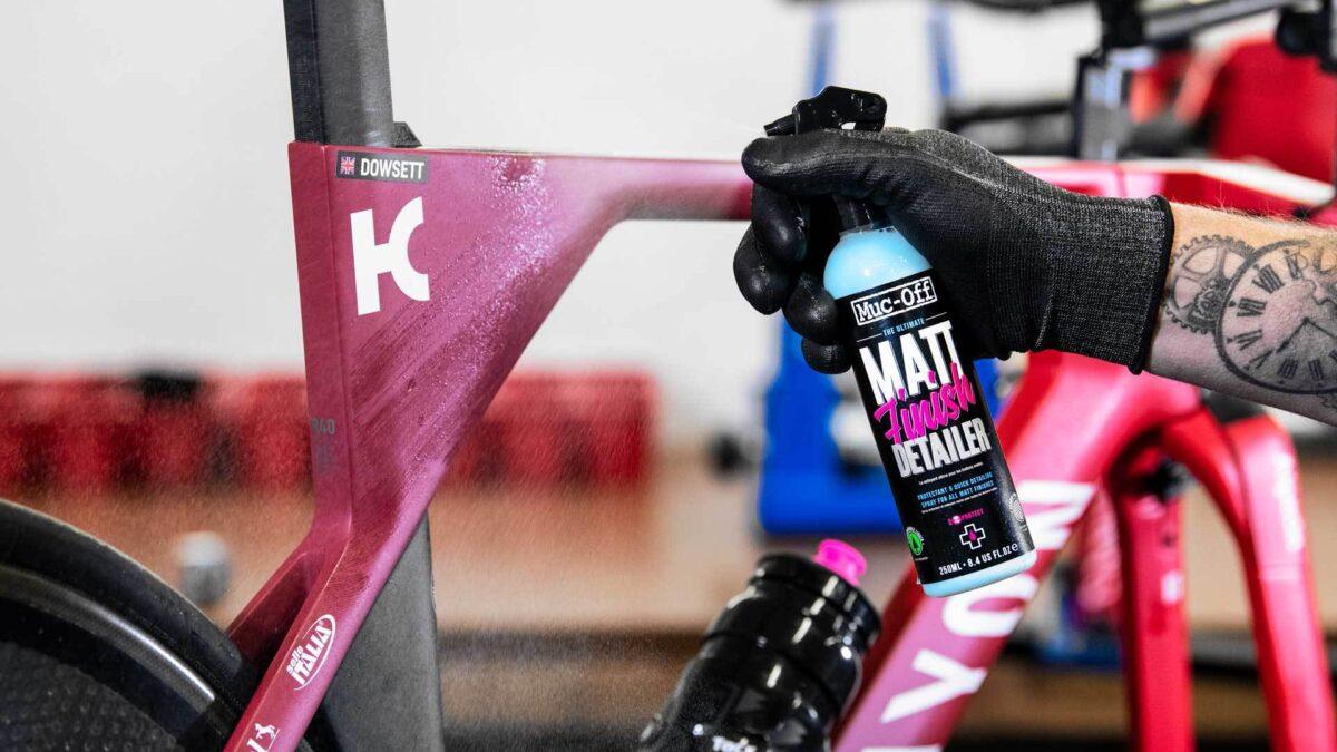 "- Muc-Off ""Matt Finish Detailer"" sprej za zaščito kolesa 250ML - OPTIBIKE"