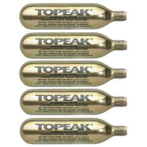 Topeak – 16g CO2 bombice na navoj (5KOS)