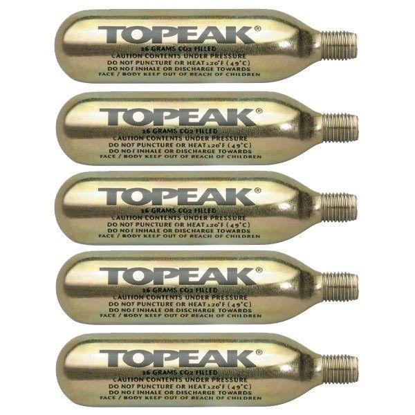 - Topeak - 16g CO2 bombice na navoj (5KOS) - OPTIBIKE