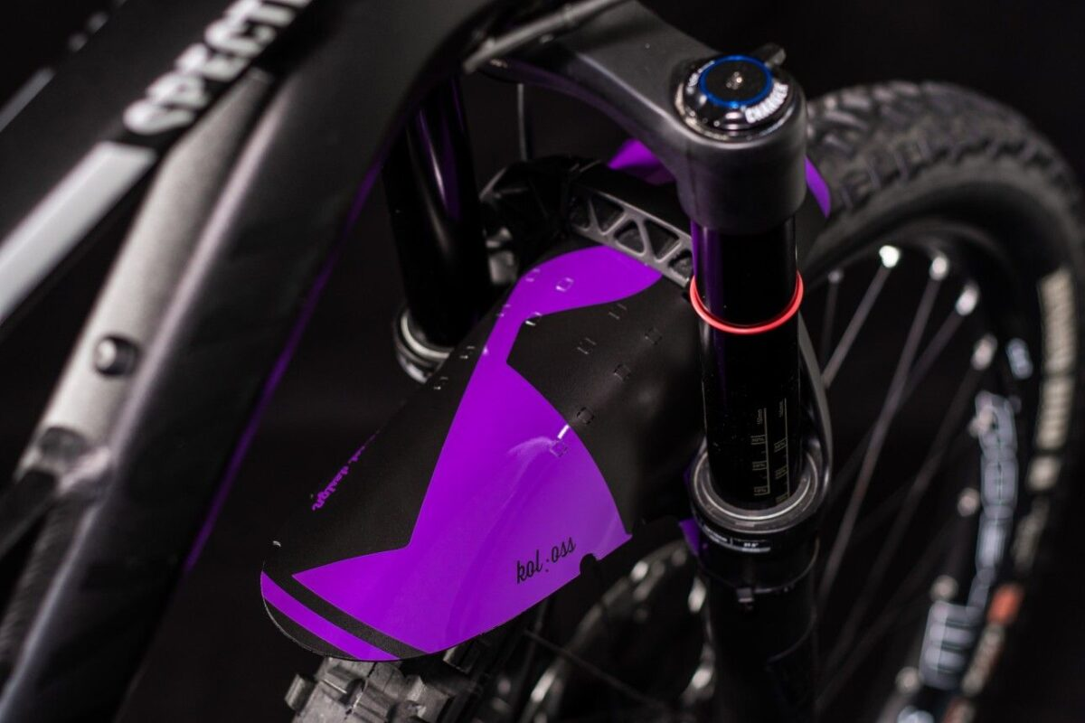- Blatnik Riesel Design Koloss Purple - OPTIBIKE
