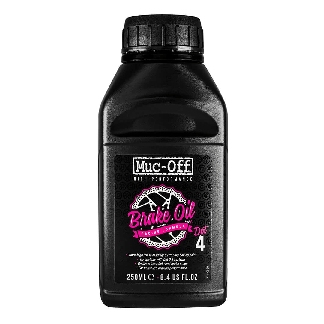 - Muc-Off High-Performance Brake Fluid DOT 4, olje za zavore 250ML - OPTIBIKE