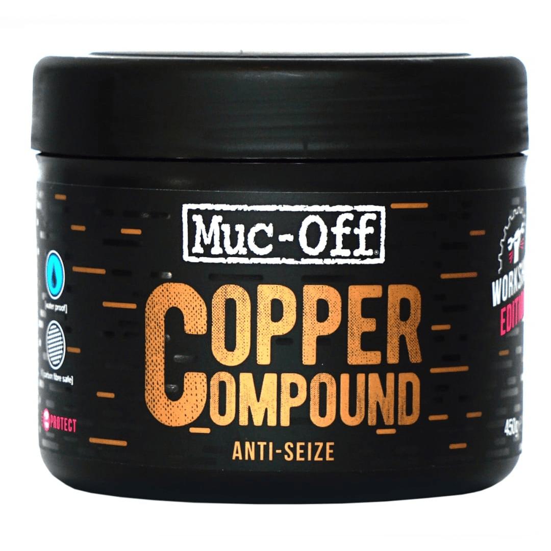 - Muc-Off Copper Compount (anti-seize), bakrena mast 450G - OPTIBIKE