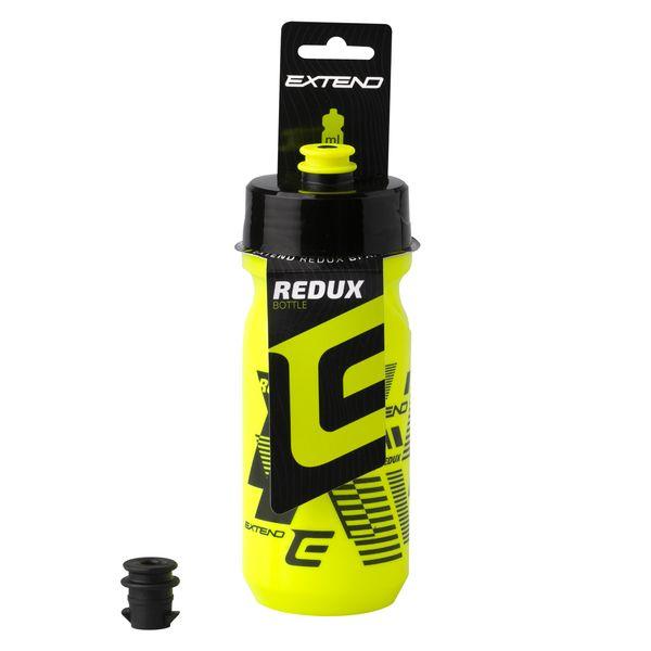 - Bidon Extend REDUX 600 ml (rumen / črn) - OPTIBIKE