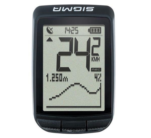 - Brezžični GPS kolesarski števec Sigma PURE GPS - OPTIBIKE