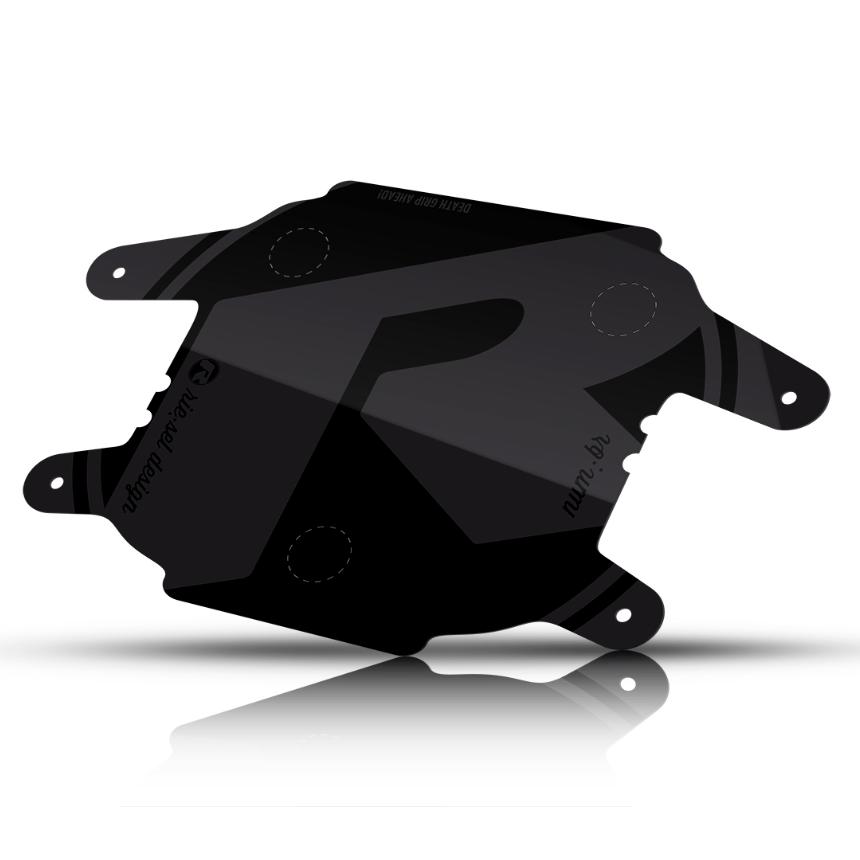 - Tablica za tekmovalno številko Riesel Design Numbr Stealth Black - OPTIBIKE