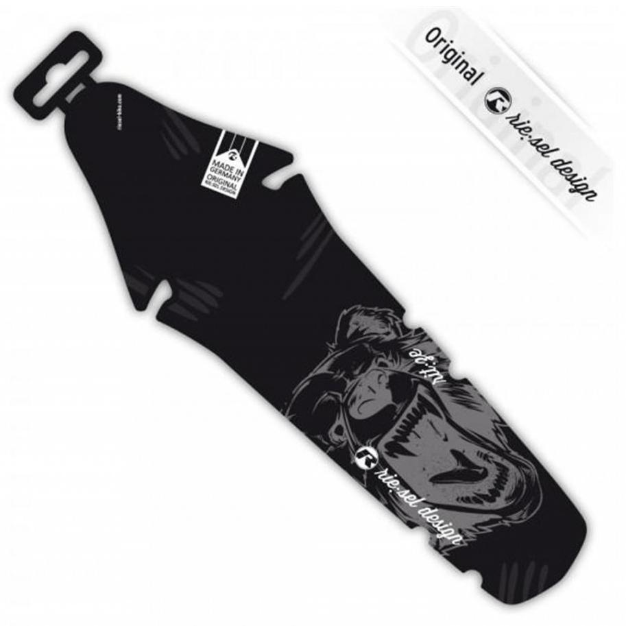 - Zadnji blatnik Riesel Design Ritze Grizzly Big Black - OPTIBIKE