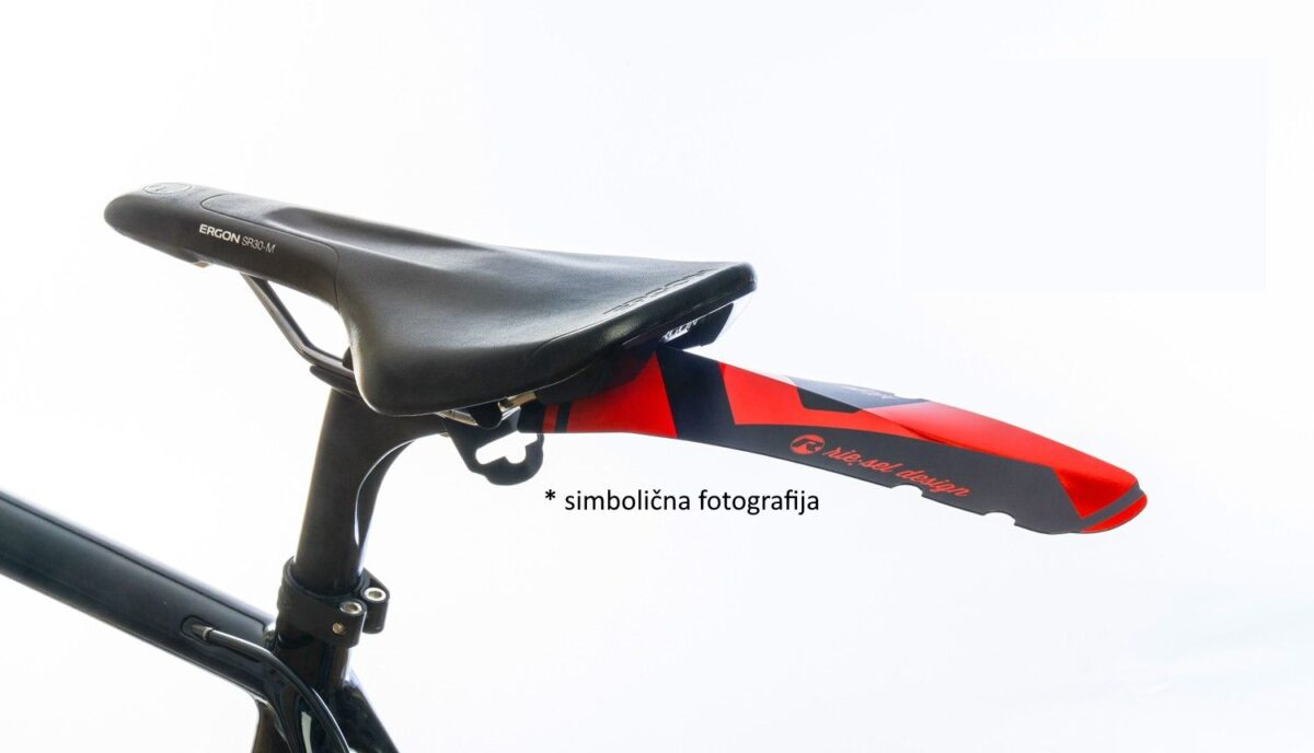 - Zadnji blatnik Riesel Design Ritze Orange - OPTIBIKE