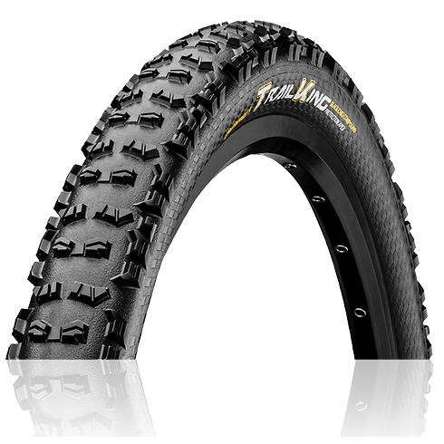 - Continental Trail King ProTection Apex BlackChilli 27.5 x 2.60 - OPTIBIKE