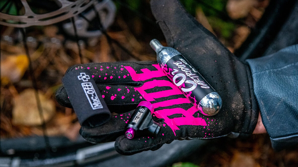 - Muc-Off CO2 tlačilka (za gorska kolesa) - OPTIBIKE