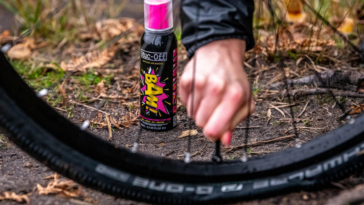 - Muc-Off tesnilni sprej B.A.M! 125ML - OPTIBIKE