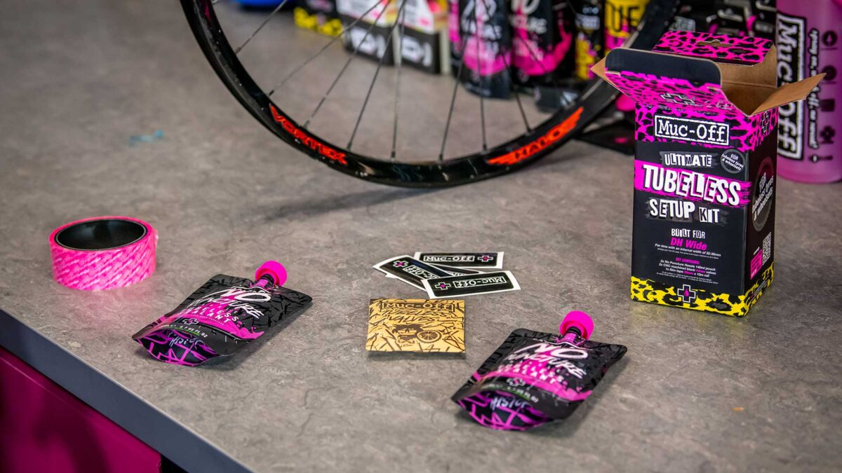 - MUC-OFF ultimate tubeless setup kit (road / gravel / CX) 44MM - OPTIBIKE