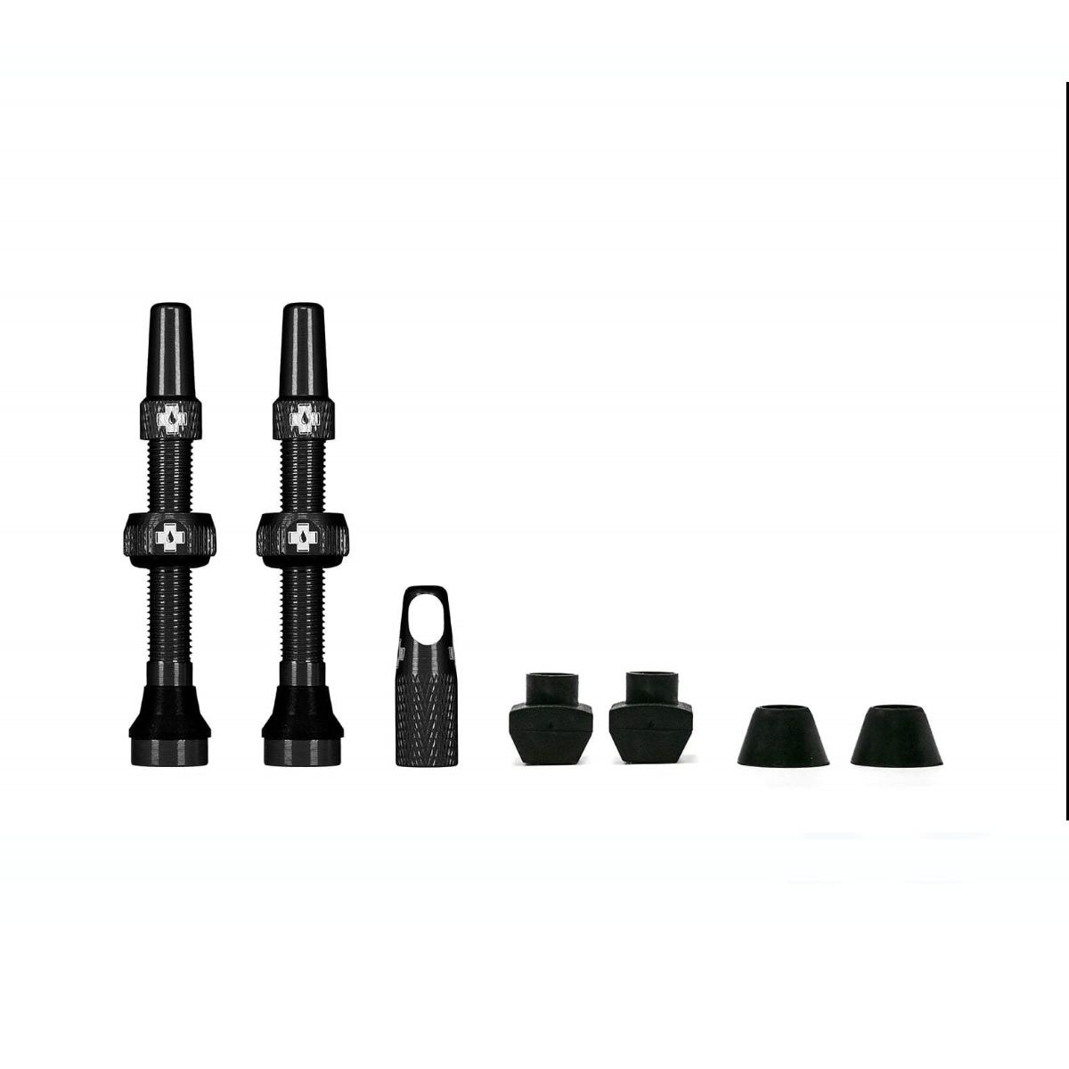 - MUC-OFF komplet tubeless presta ventilov 44MM - črna - OPTIBIKE