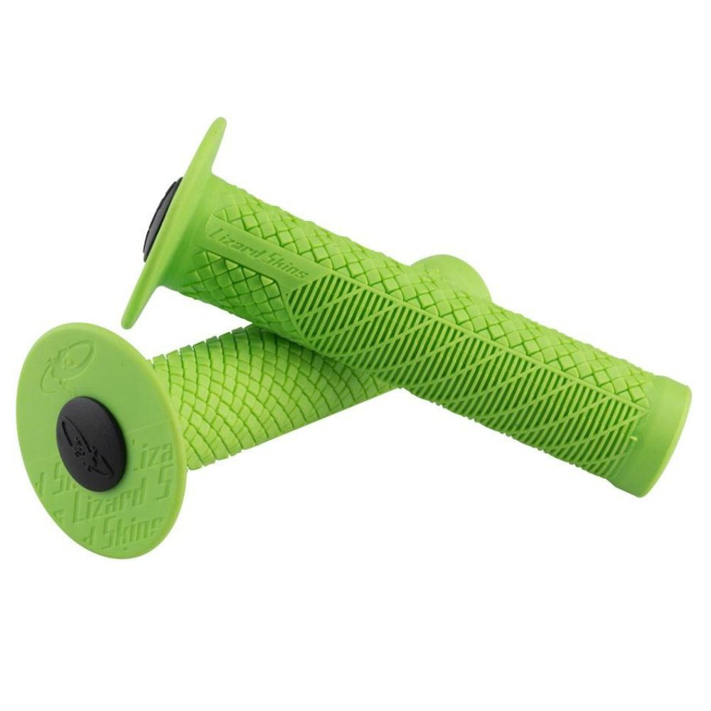 - Ročaji za krmilo Lizard Skins Charger EVO Single Flange (zeleni) - OPTIBIKE