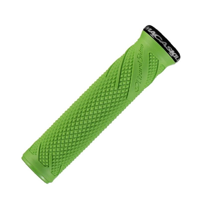 - Ročaji za krmilo Lizard Skins Danny Macaskill Lock-On (zeleni) - OPTIBIKE