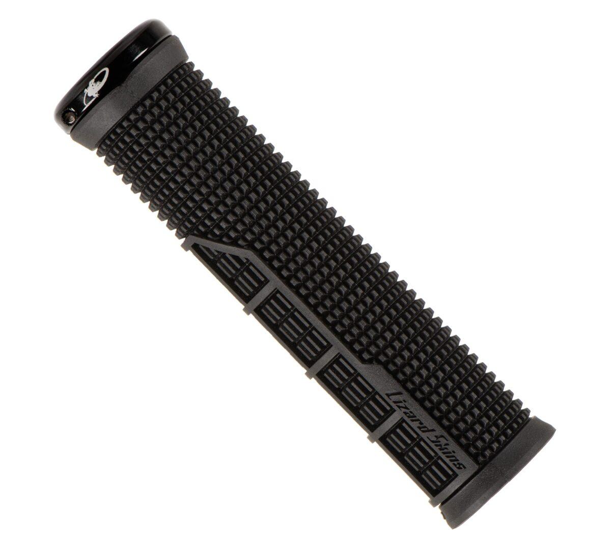 - Ročaji za krmilo Lizard Skins Single-Sided Lock On Machine (črni) - OPTIBIKE