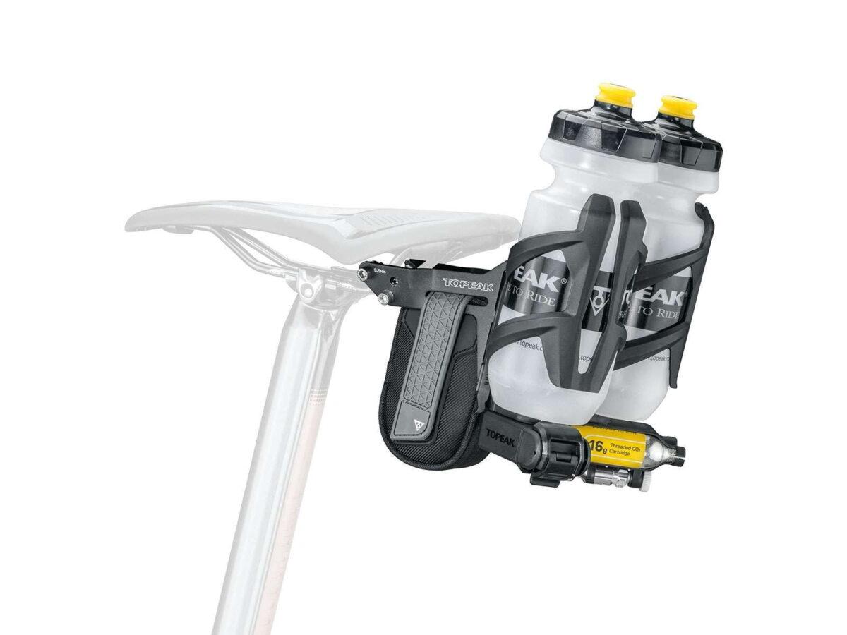 - Nosilec bidona in opreme Topeak Tri-Backup PRO V Triatlon - OPTIBIKE
