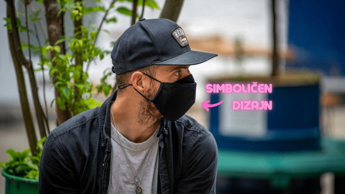 - MUC-OFF zaščitna maska za večkratno uporabo (urban camo) - OPTIBIKE