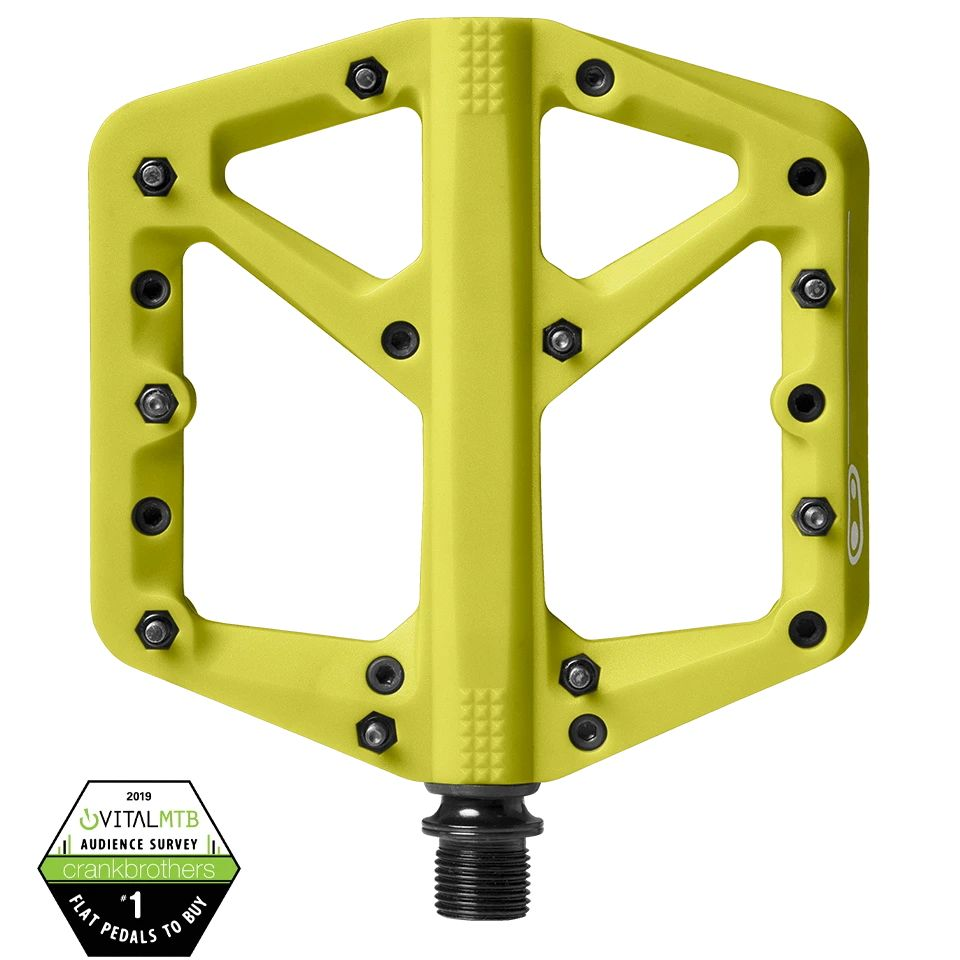 - MTB pedala Crank Brothers Stamp 1 (citronsko rumena) - OPTIBIKE
