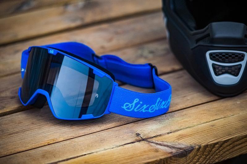 - Očala 661 Radia Goggles Script Blue - OPTIBIKE