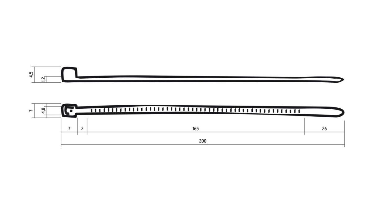 - Vezice Riesel Design Cabletie Neon Yellow - OPTIBIKE