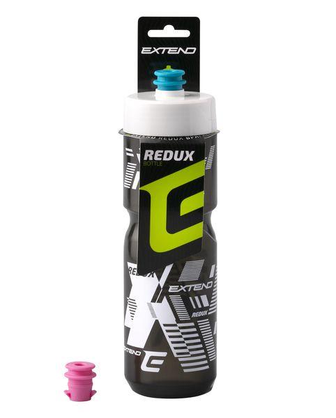 - Bidon Extend REDUX 800 ml (prozoren / črn / bel) - OPTIBIKE
